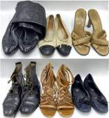 Lot of Designer Shoes  Boots incl Chanel Tods