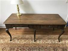 French Country Provencal Two Drawer Console