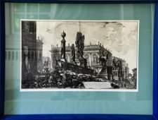 Giovanni Battista Piranesi Veduta del Campidoglio