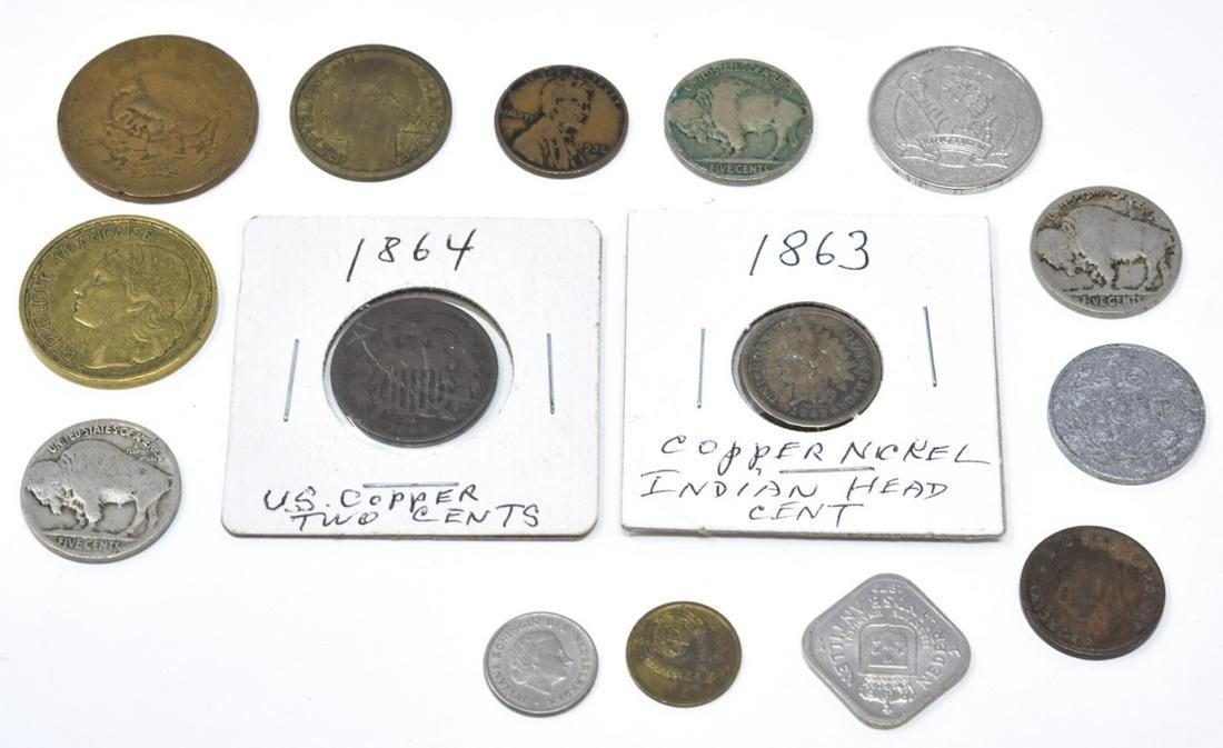 Antique & Vintage Coins Including American