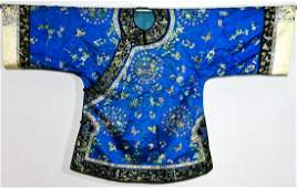 Fine Chinese Silk Embroidered Robe
