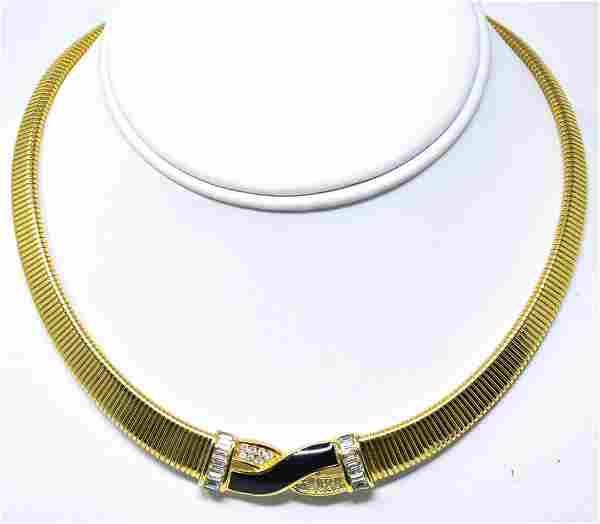 Vintage Costume Jewelry Christian Dior Necklace