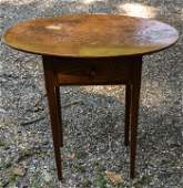 Antique 19th Century American Sheraton End Table