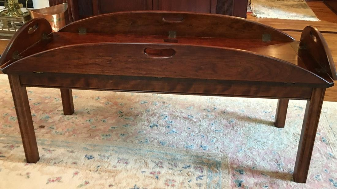 George III Butler Tray Coffee Table