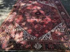 Hand Knotted Oriental Persian Heriz Pattern Carpet