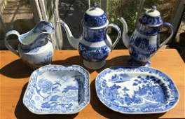 Collection of Antique 19th C English Porcelain