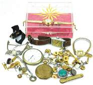 Collection Vintage Pocket Watches  Wrist Watches