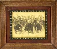 Antique 19th C Currier Ives Civil War Litho Print