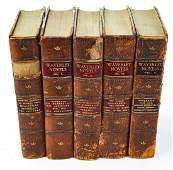 Waverly Novels, Sir Walter Scott, in 5 Volumes