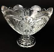 Waterford Crystal Footed Compote