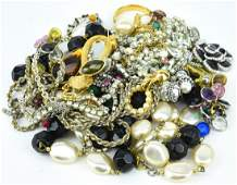 Collection of Vintage Costume Jewelry Pieces