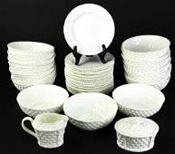 Set Tiffany & Co Bowls Plates Creamer & Sugar Bowl