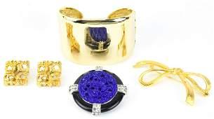 Lot of Kenneth J Lane Vintage Jewelry