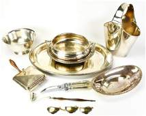 Collection Silver Plate Tableware Items