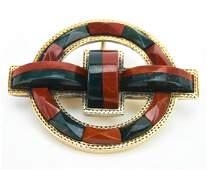 Antique 19th C Scottish 9KT Gold Pendant