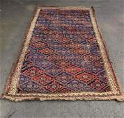 Hand Knotted Afghan Beluch Rug