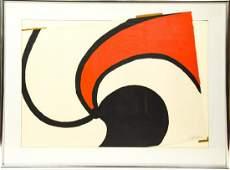 Alexander Calder Spiral Composition Lithograph