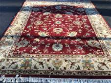 Quality Hand Knotted Wool Large Persian Carpet