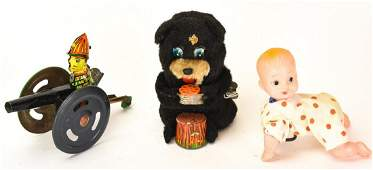 Collection Of Vintage Doll And Toy Wind Ups