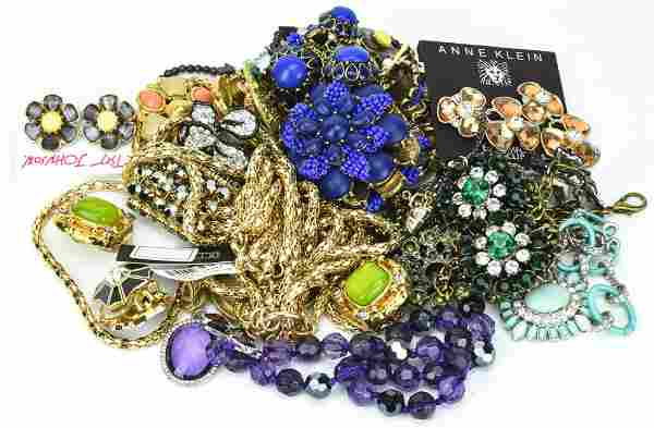 Group Designer Costume Jewelry Necklaces, Earrings