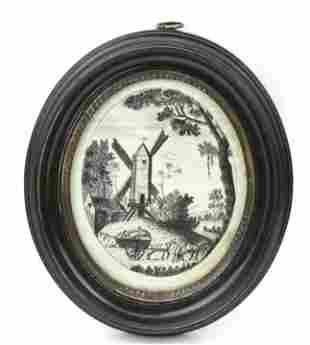 Antique Early 19th C Dutch Portrait Miniature