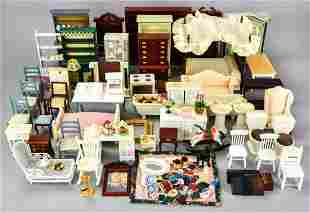 Collection of Contemporary Doll House Furniture