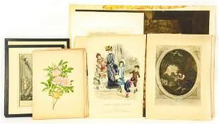 Antique La Moda Ilustrada Lithographs & More