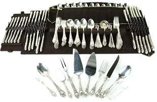 Rogers, Lunt & Bowler Sterling Silver Flatware Set