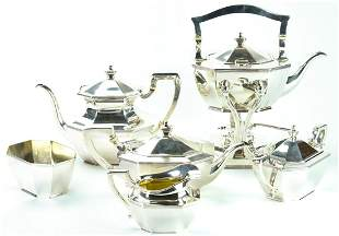 Black, Starr & Frost Sterling Silver Tea Set