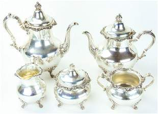 Gorham Sterling Silver Tea & Coffee Set