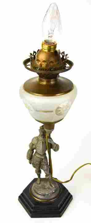 Victorian Style Figural Table Lamp