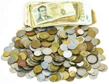 Collection of Antique & Vintage Foreign Currency