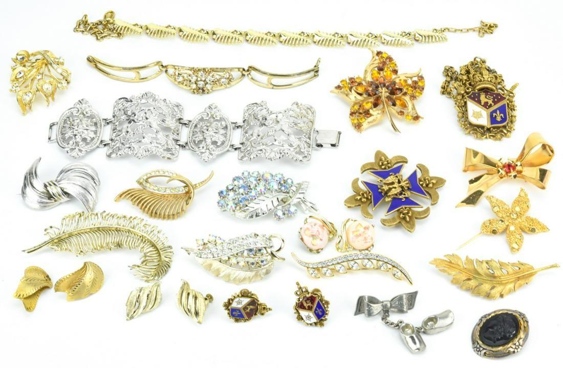 Vintage Costume Jewelry - Coro & Corocraft