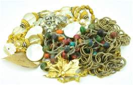 Collection Of Antique & Vintage Costume Jewelry