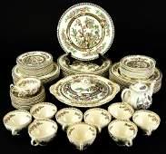 Antique Set  Alfred Meakin 'India Tree' Dinnerware