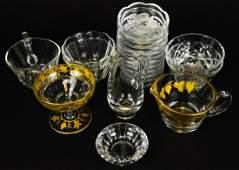 Collection Val Saint Lambert Crystal Tableware