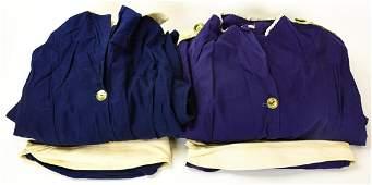 Pair Vintage Crawford Work Shop USO Dresses & Hats