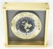 Vintage Seiko World Time Zone Case Clock