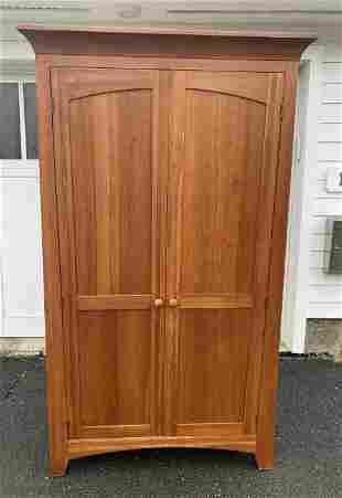 Ethan Allen Contemporary Wood Cabinet / Wardrobe