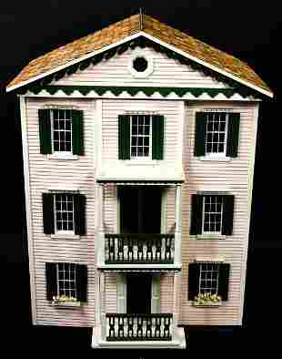 Contemporary Pink Doll House