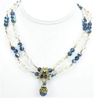 Vintage Robert de Mario Costume Jewelry Necklace