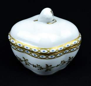 Richard Ginori Italian Porcelain Jewelry Box