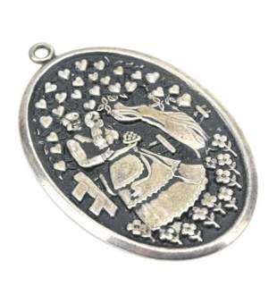 Large International Sterling Necklace Pendant