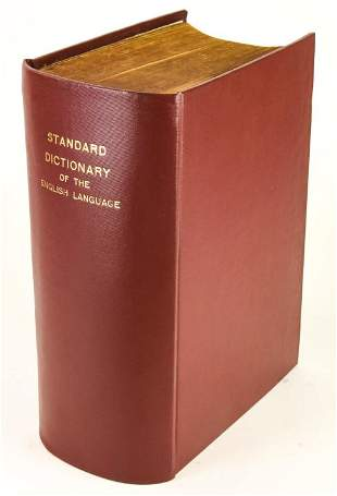 Funk & Wagnalls New Standard Dictionary 1920
