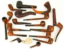 Antique Vintage Pipes  Cases HV  Co B Morgan