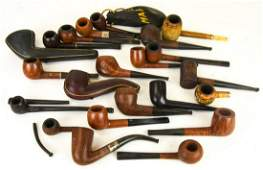 Antique Vintage Pipes  Cases M Nevill Digby