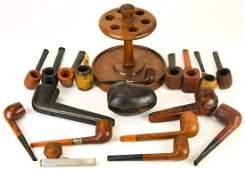 Antique Vintage Pipes  Cases Loewe B Morgan  Co