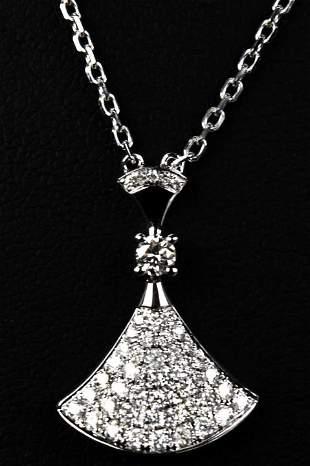 Bulgari Diva's Dream 18kt Gold & Diamond Necklace