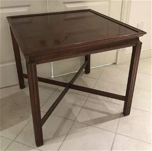 English George III Style Mahogany End Table