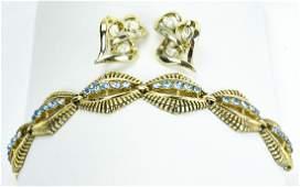 Vintage Coro Earrings & Bracelet